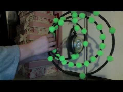 3d Atom Model Glowing With LED - YouTube School Pinterest - new periodic table phosphorus atomic mass