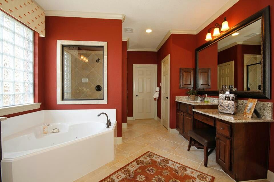 Red Bathroom Decorating Ideas Pinterest
