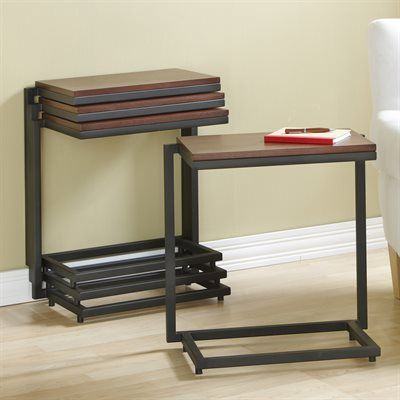 Tag Furnishings Group Stacking Wide Tray Table Tv Trays