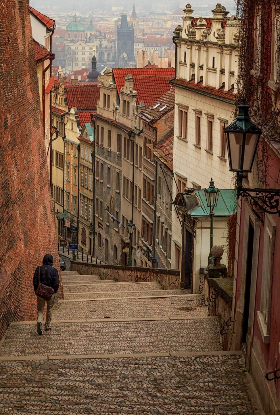 Road Less Traveled Zamecke Schody Prague Czech Republic With