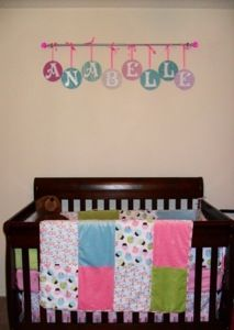 Diy Nursery Letters A Baking Belle Maybe Use Tree Branch To Hang Them On