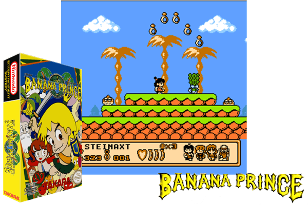 Banana Prince Germany Translated En Just Another Nintendo Nes Classic Game Follow Us On Pinterest To Discover More Videogame Classics From The Golden A
