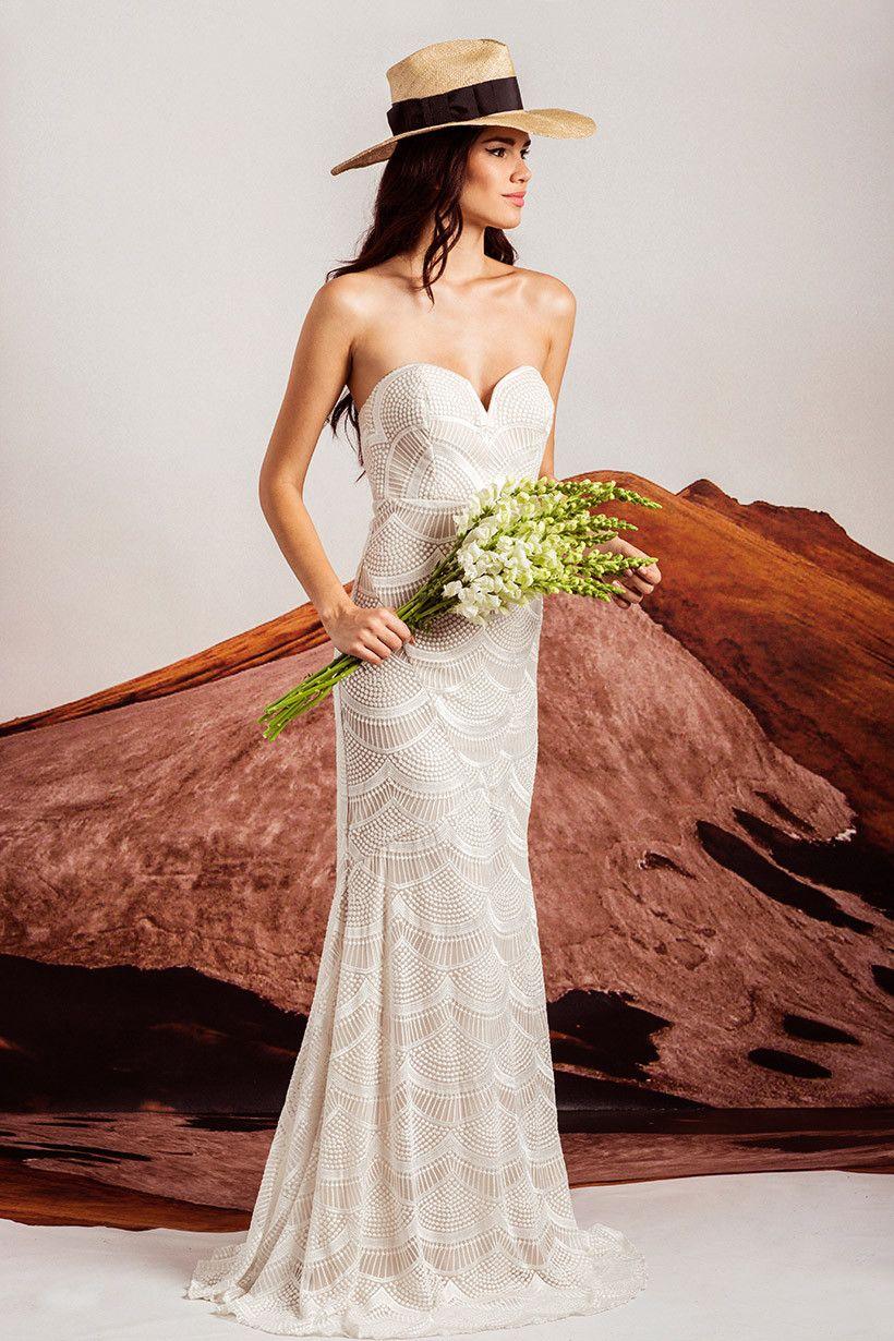 7fe66fe9eb Stone Cold Fox Bridal- Bridal Market Gown  815