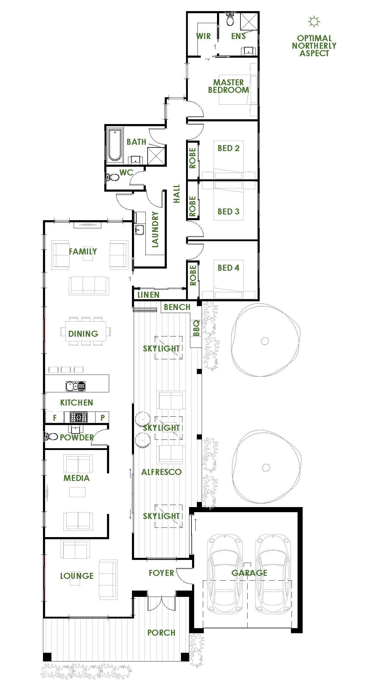 An Exclusive Architecturally Designed Home Created By Green Homes Australia The Stradbroke House Plans Australia Home Design Floor Plans L Shaped House Plans