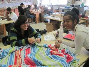 """Proviso East Student Council Helps Kids in Need Through """"Project Night Night"""