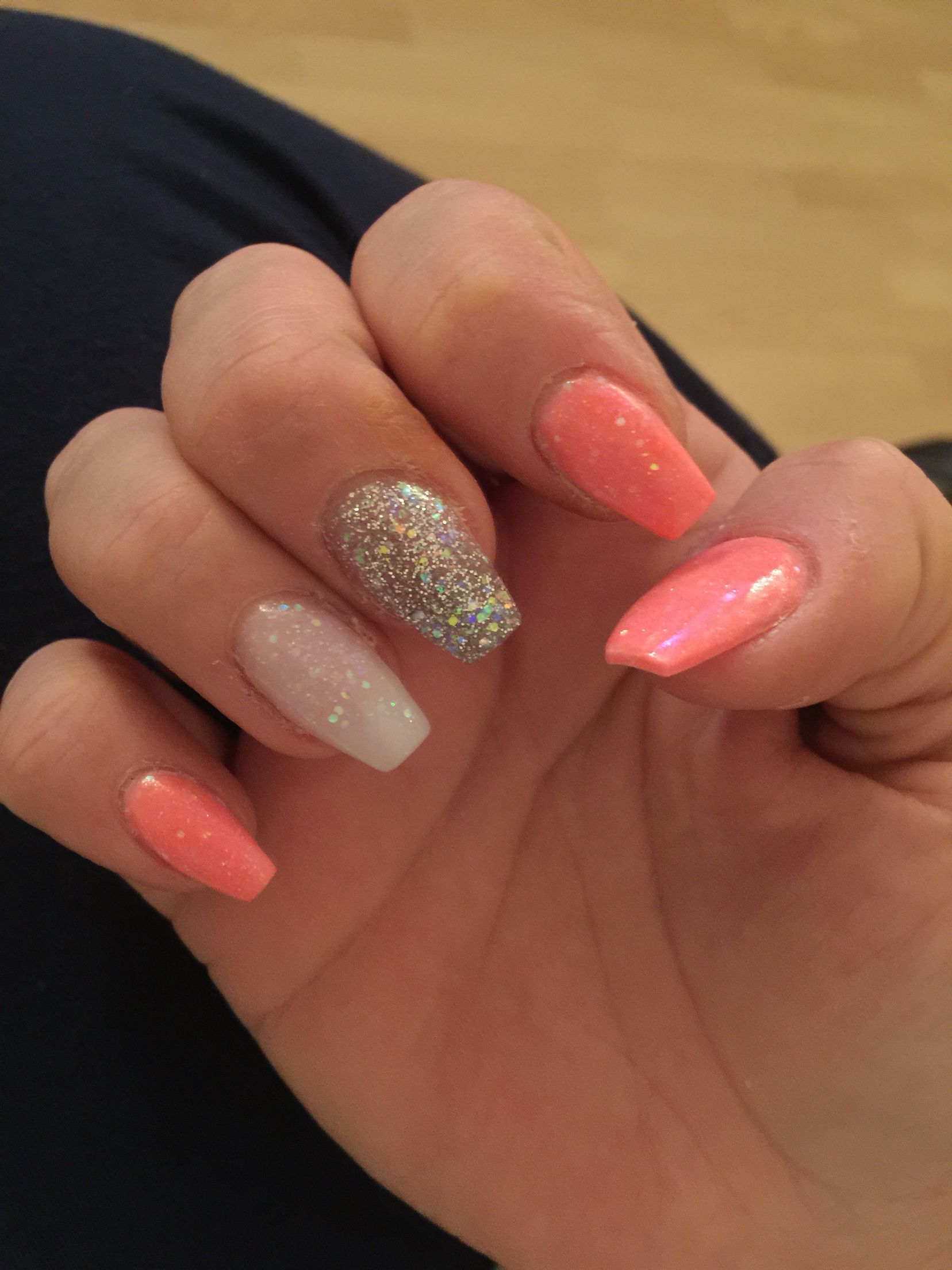Square Acrylic Summer Is Here Acrylic Nails Summer Acrylic