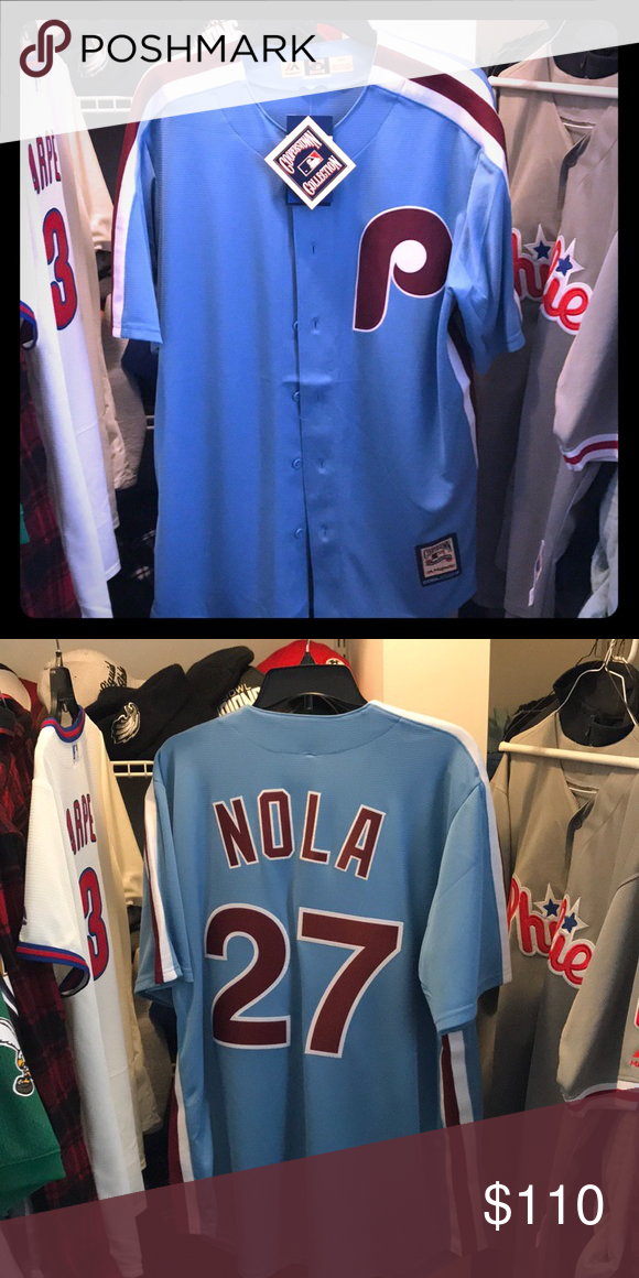 quality design 12d8c 3d183 Philadelphia Phillies Replica Aaron Nola Jersey. 2019 men's ...