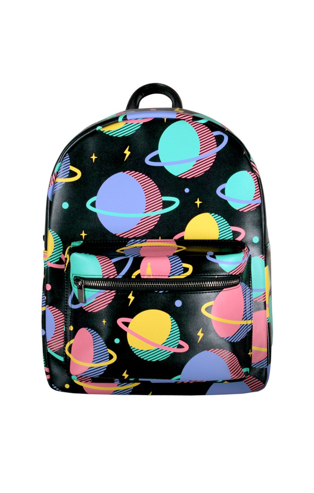 Planets Leather Mini Backpack - BKBT Concept - 1