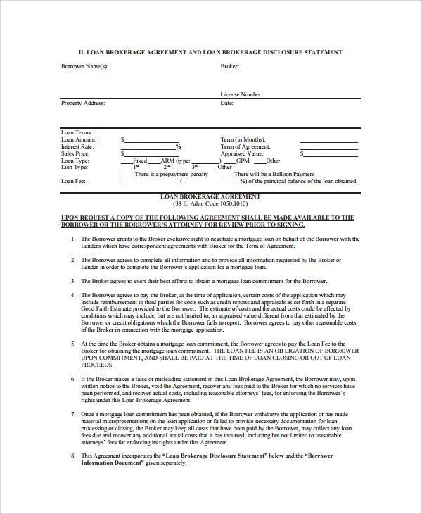 Sample Business Loan Agreement 6 Free Documents Download In Word Pdf Marketing Plan Template Business Loans Hard Money Loans
