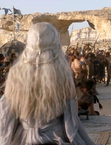 50 of the Greatest Braids From Game of Thrones.... because you know that Daenerys hair is one of the reasons why you watch GoT