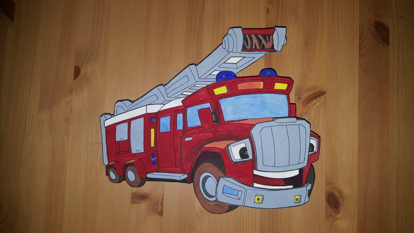 Tatutata Feuerwehrlampe Lampe Schlummerlicht Feuerwehrauto Quarto De Bombeiro Bombeiro