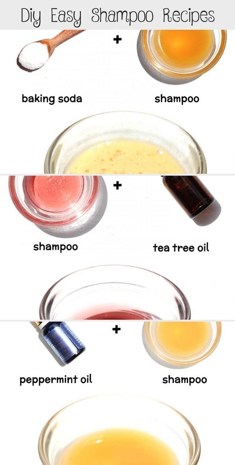 Diy easy shampoo recipes shampoo recipe baking soda