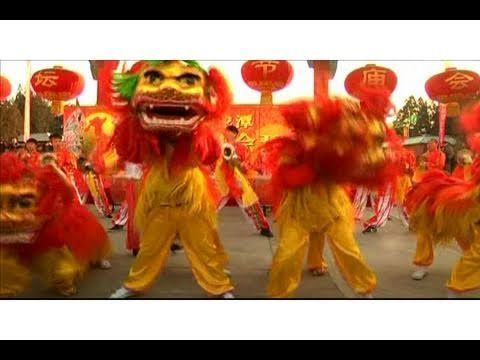 video lunar new year celebrations begin in china featuring a dragon dance - Chinese New Year Video