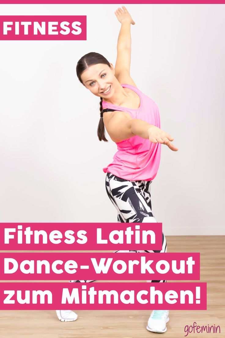 Photo of Ganzkörpertraining: Fitness Latin Dance-Workout