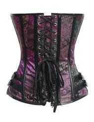 Amazon.com: purple corset