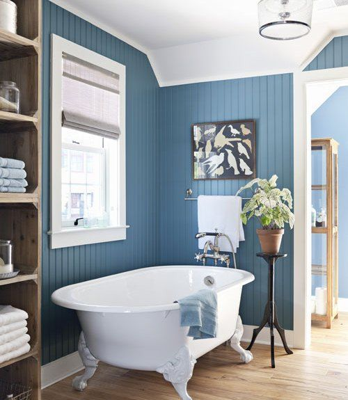 Blue Bathroom Paint Color Ideas   Blue bathrooms are beautiful  especially  in this gorgeous steel. Blue Bathroom Paint Color Ideas   Blue bathrooms are beautiful