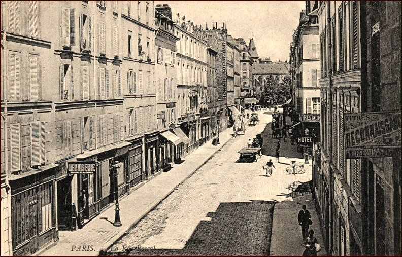 Rue Pascal Paris 75005 75013 Paris Rue Vieux Paris