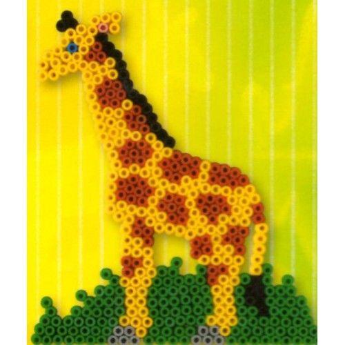 Diy Time Lapse 3d Perler Beads Giraffe Animal Pattern 3d