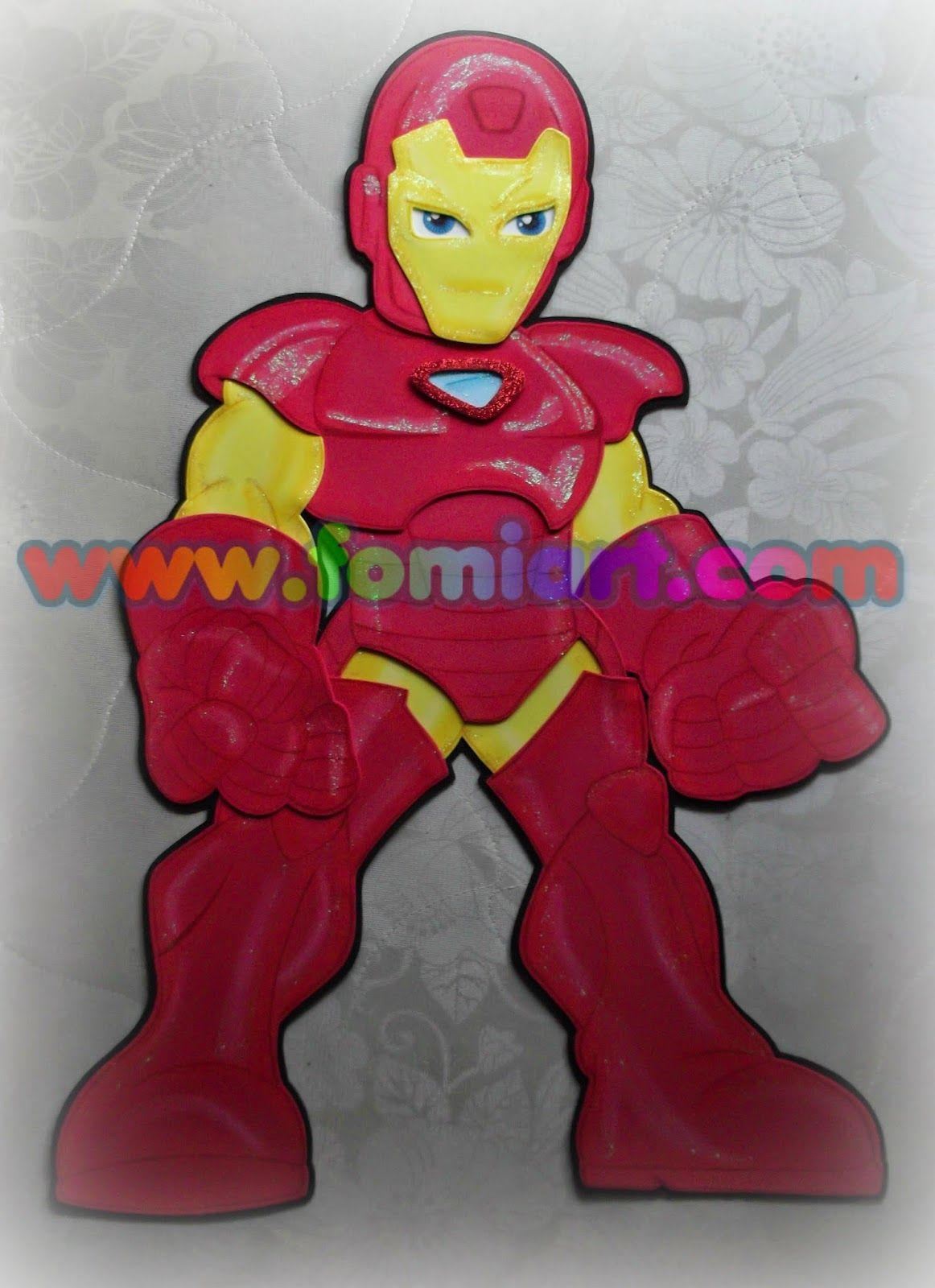 Iron Man En Fomi Fomiart