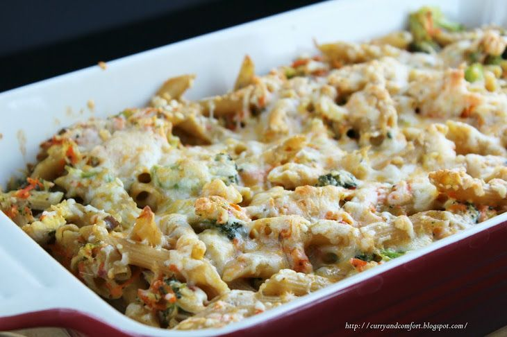 Yummly Personalized Recipe Recommendations And Search Recipe Pasta Casserole Recipes Baking Recipes Healthy Creamy Chicken Pasta Bake