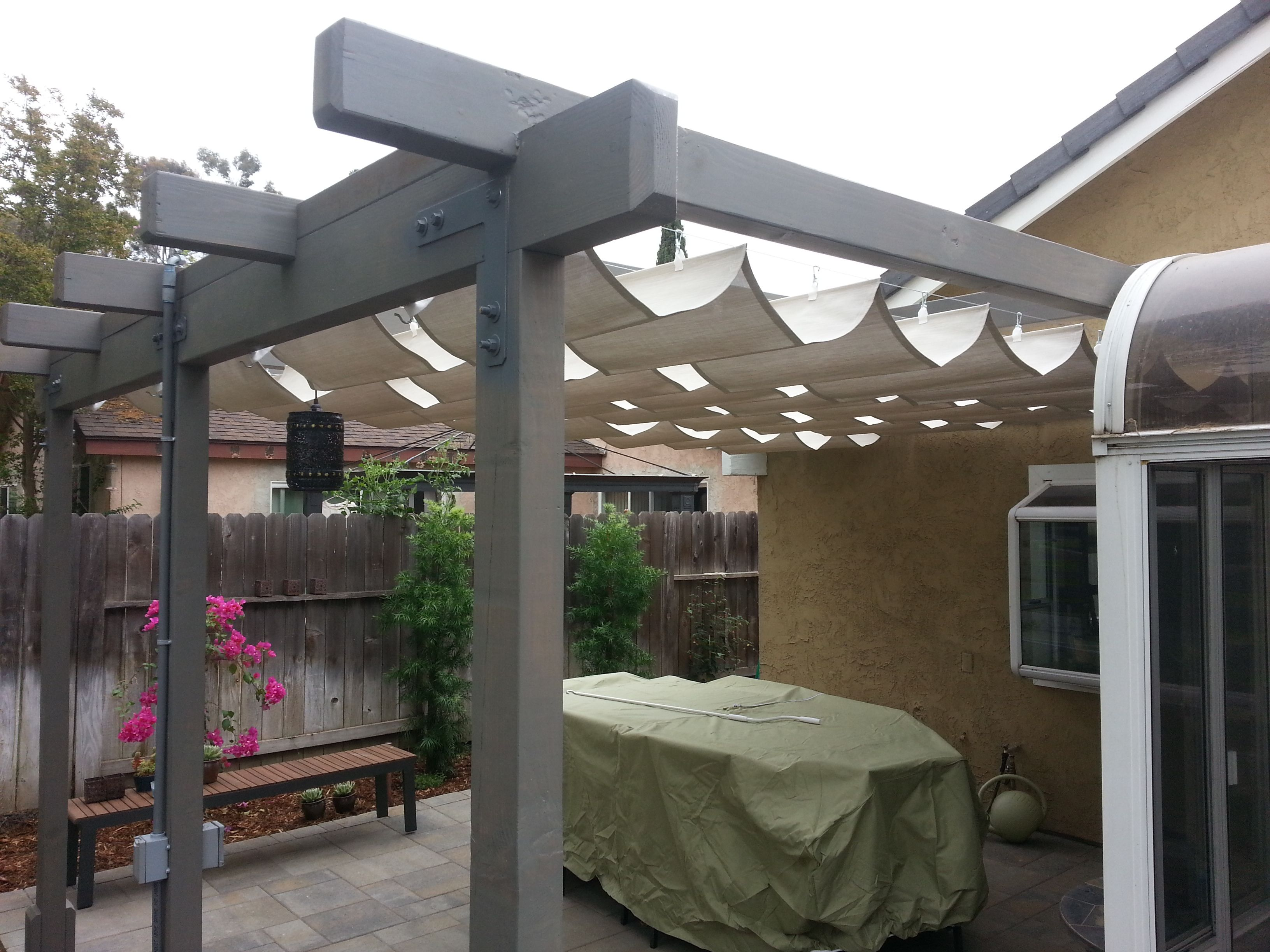 2 4 Picture From Our Team King Awnings Install With Images Shade Screen Installation Outdoor Decor