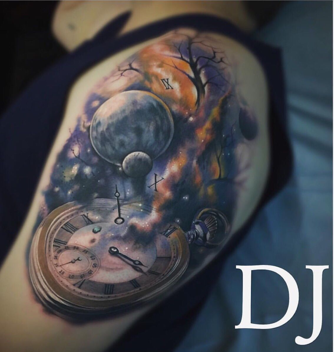 Time melting into space by dj tambe bad apple tattoo in las vegas time melting into space by dj tambe bad apple tattoo in las vegas imgur buycottarizona Images