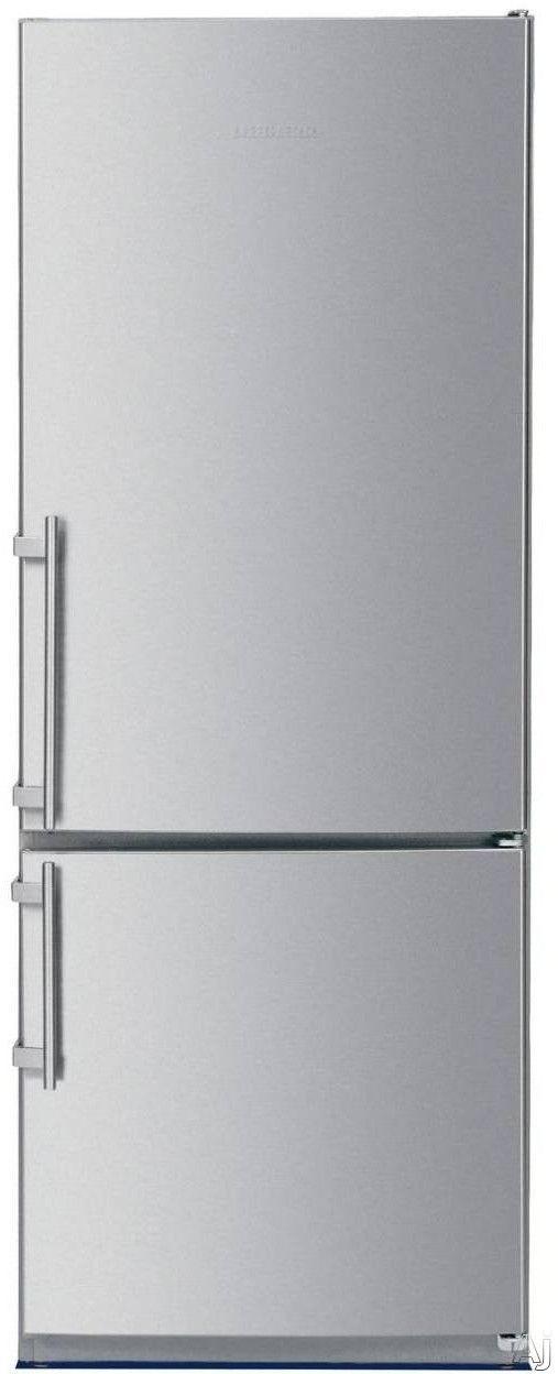 Counter Depth Bottom Freezer Refrigerator With Adjustable Glass Shelves,  GlassLine Storage Racks, LED Lighting And LED Temperature Display: Right  Hinge Door ...