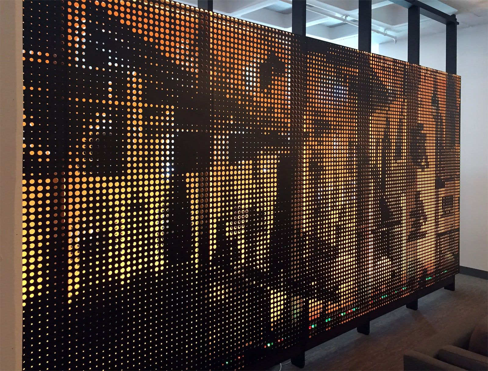 twitter san francisco office. Custom Perforated Painted Aluminum Screens And Wall Panels For Twitter HQ\u0027s Corporate Office Space In San Francisco R