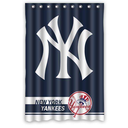 Best Home Choice Mlb New York Yankees Polyester Bathroom