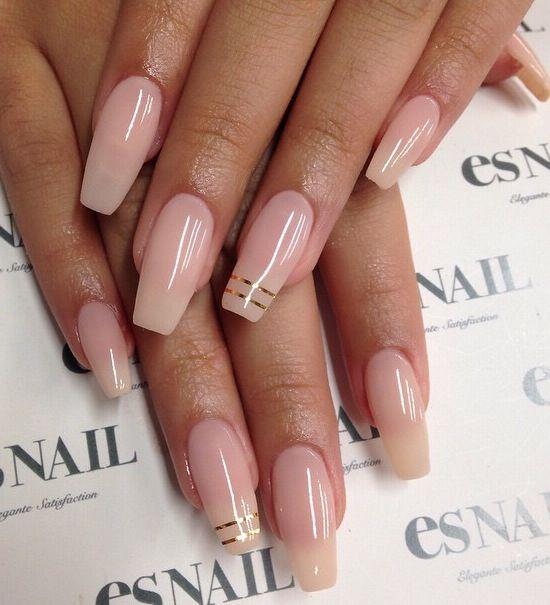 Natural Coffin Nails Coffin Nails Designs Nail Designs Fashion Nails