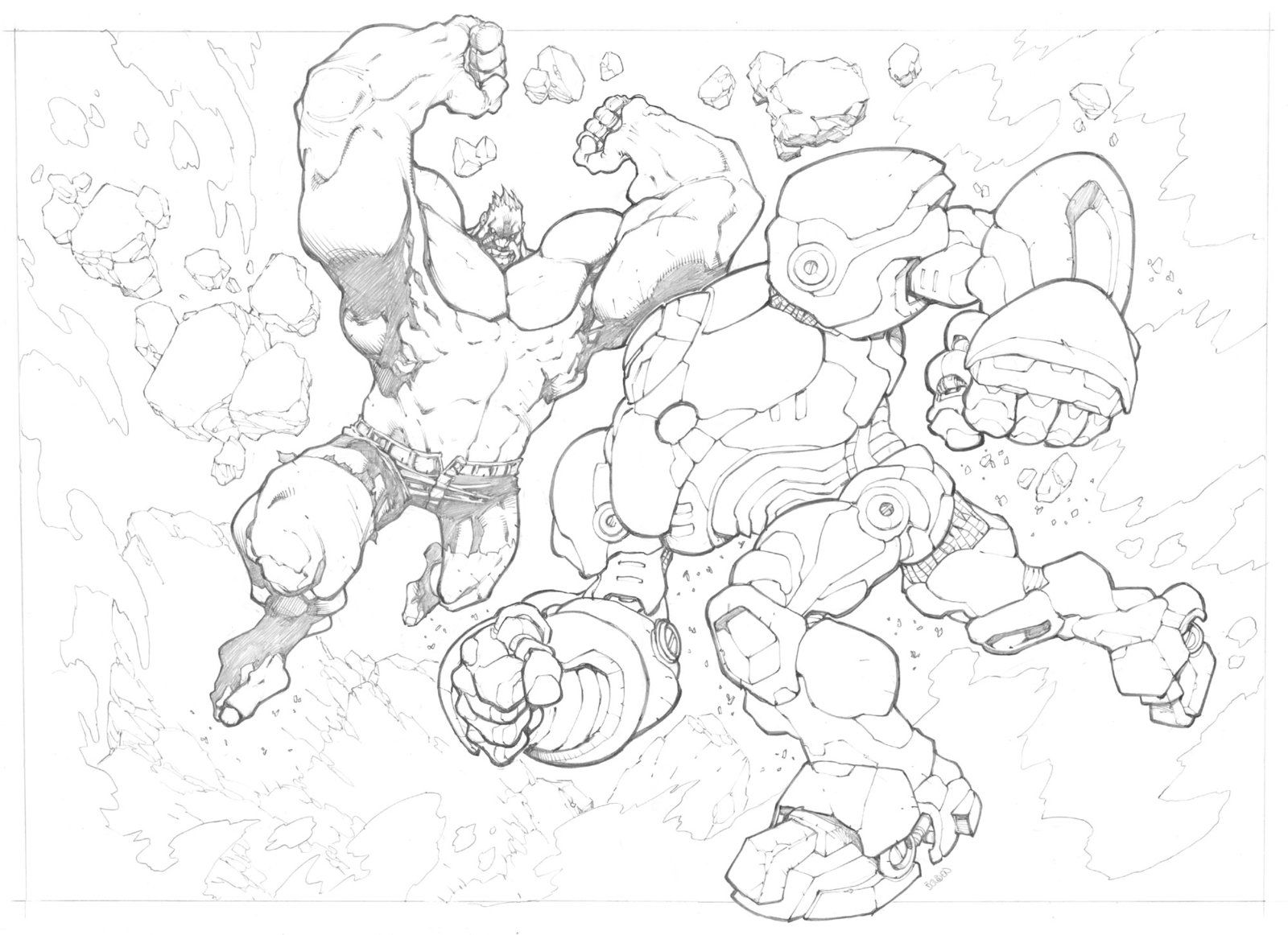 Hulkbuster by mikebowden (With images) Hulk art
