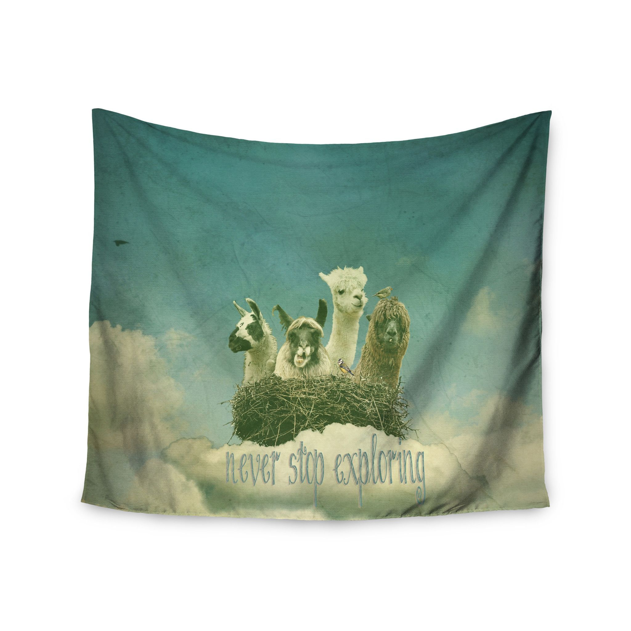 "Monika Strigel ""Never Stop Exploring"" Wall Tapestry"