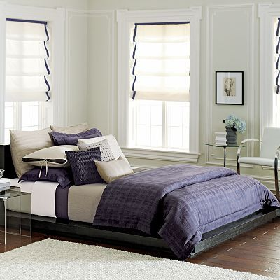 bedroom set | For the Home | Pinterest | Plaid bedding and Purple ...