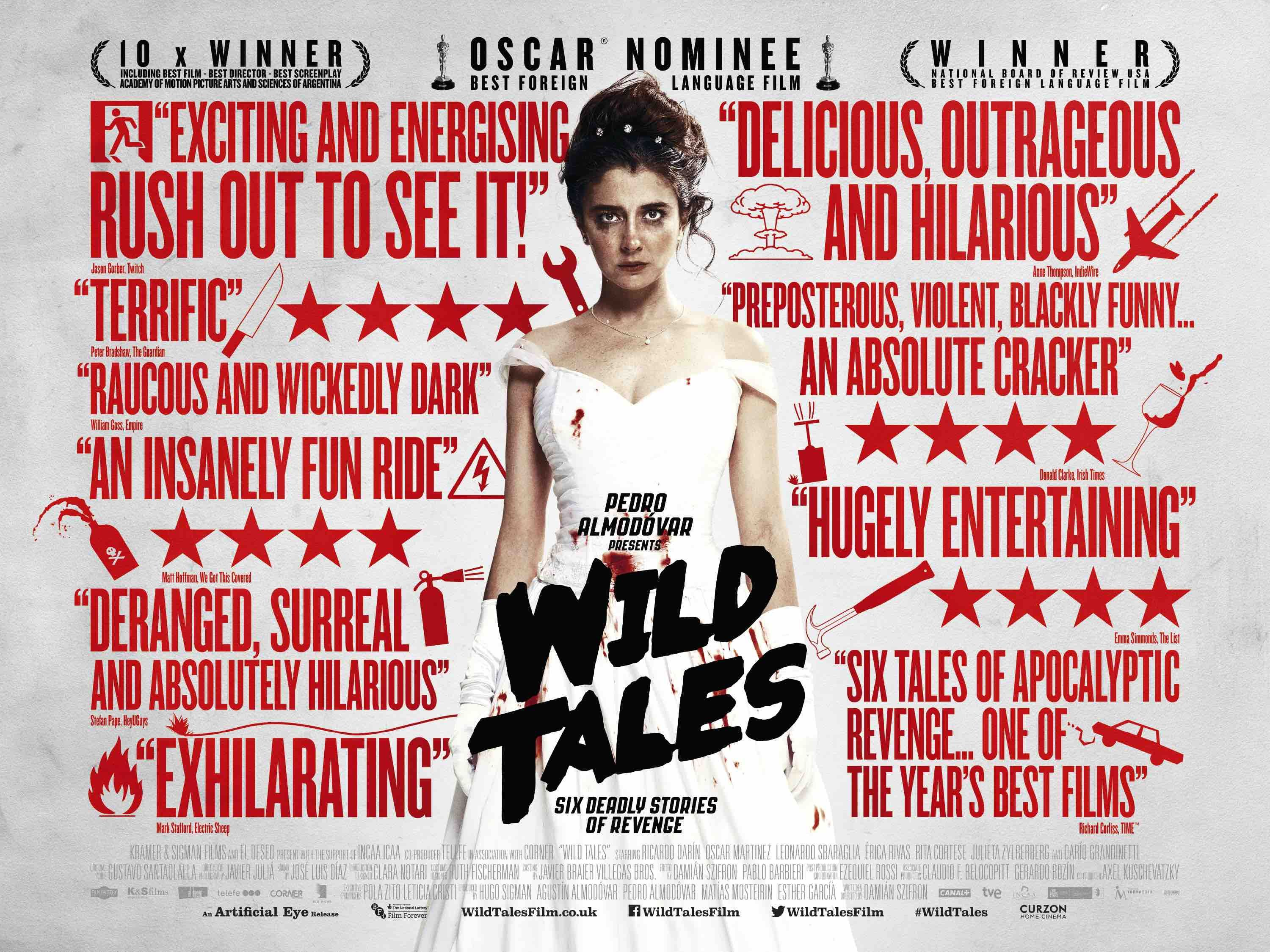 Film Review: Wild Tales (Relatos Salvajes) | Wild movie, Tales ...