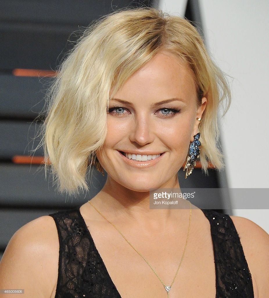 Actress Malin Akerman arrives at the 2015 Vanity Fair Oscar Party Hosted By Graydon Carter at Wallis Annenberg Center for the Performing Arts on February 22, 2015 in Beverly Hills, California.
