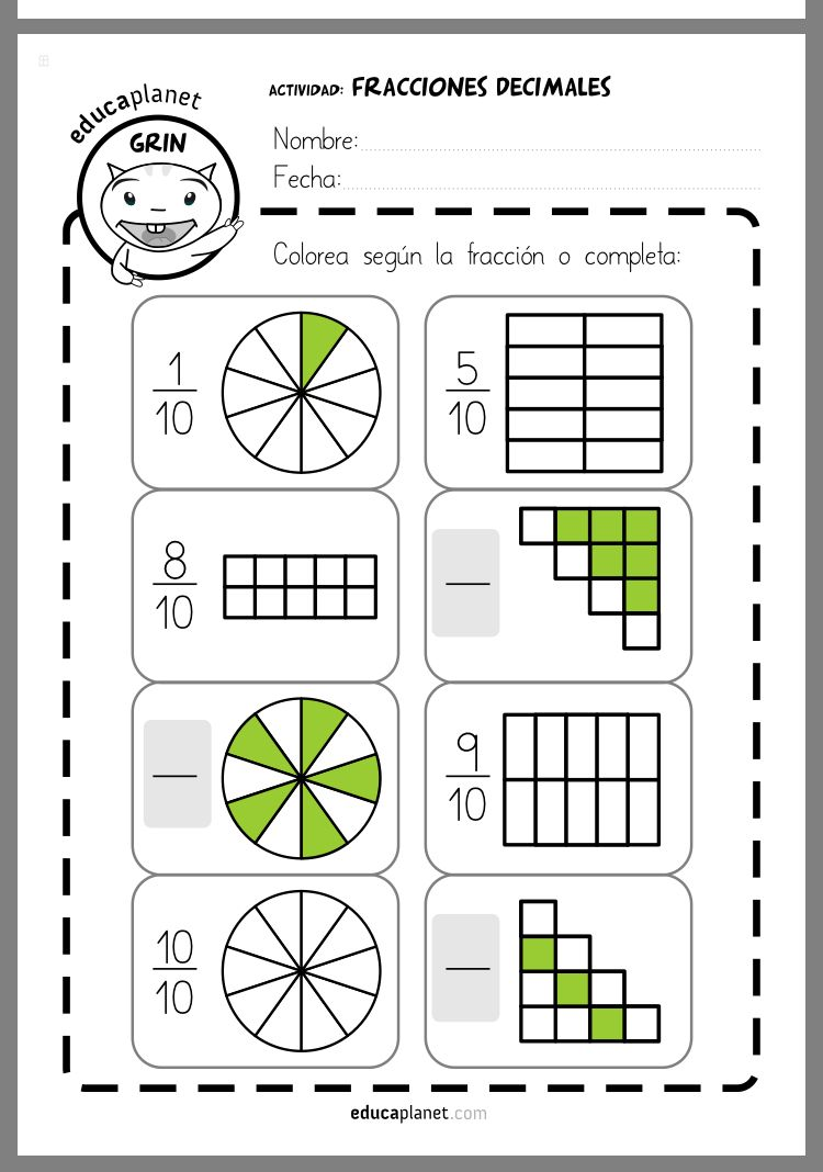 Pin By Helena Martins On Fractions Fractions Kids Math Worksheets Learning Math [ 1068 x 750 Pixel ]