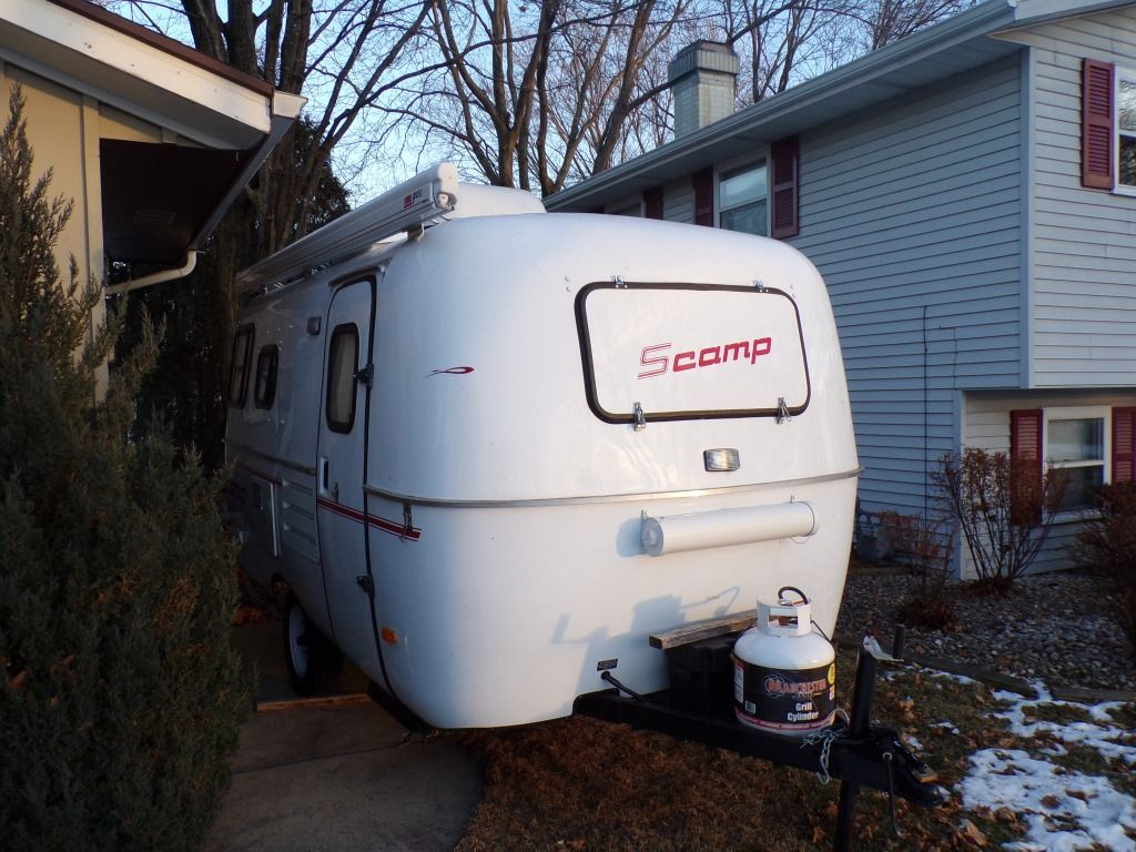 1993 16 Ft Scamp Travel Trailer Travel Trailers For Sale Used