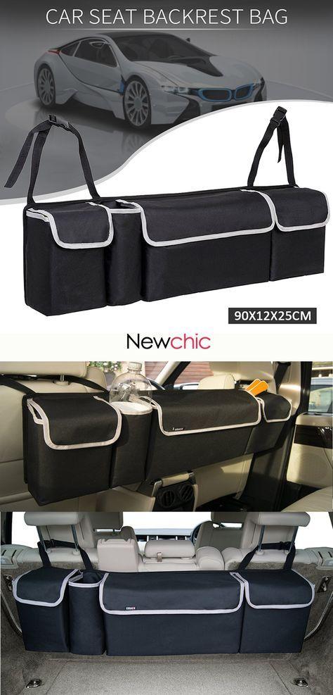 Us 33 98 Auto Car Back Seat Multi Pocket Storage Organizer Tissue Holder Bag Car Bag Storagebag Car Storage Bag Cars Organization Car Storage