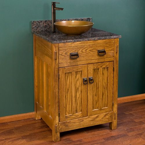 24 Mission Hardwood Vanity Cabinet 479 For Cabinet Only Vanity