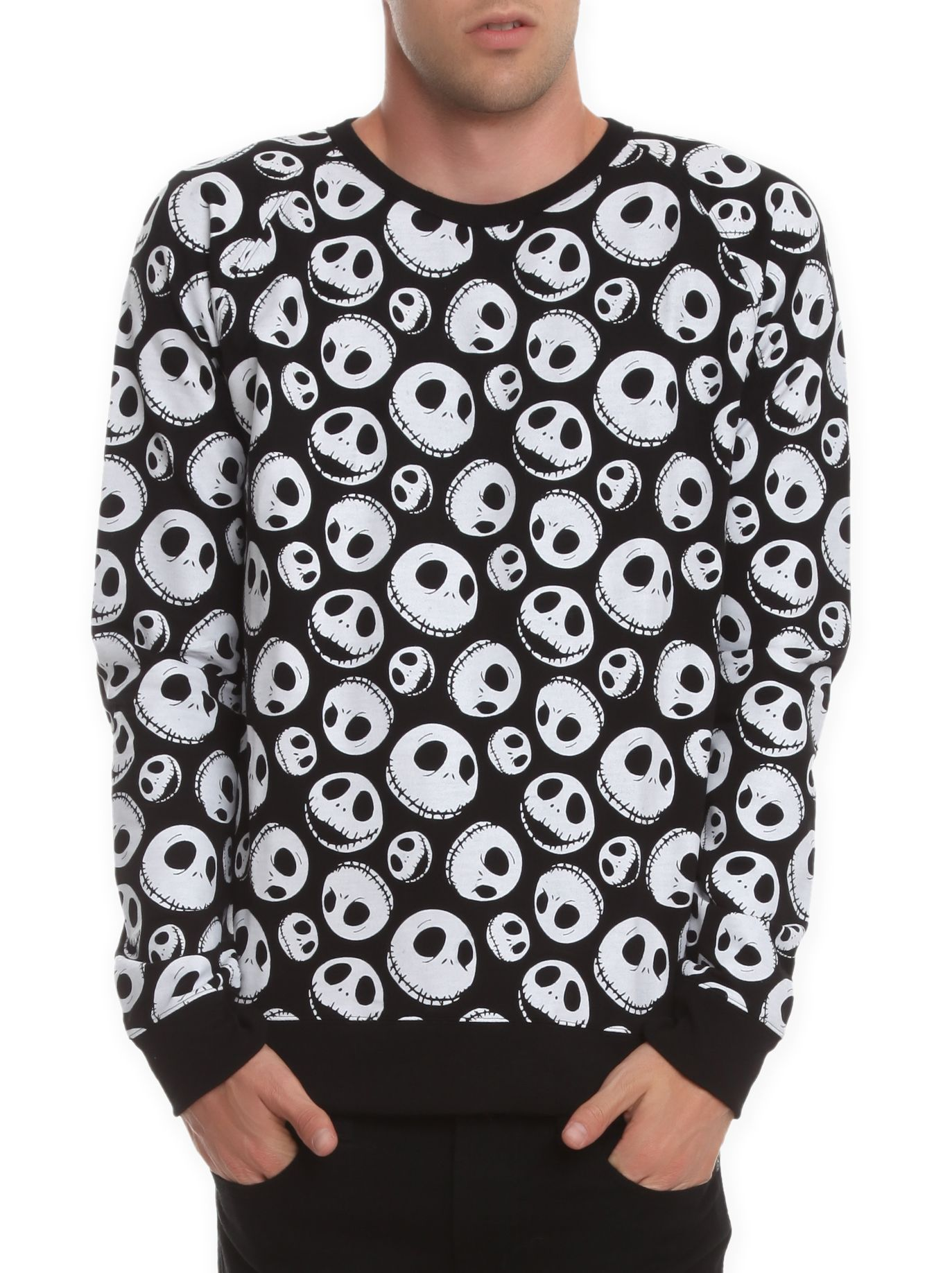 The Nightmare Before Christmas Jack Skellington Sweatshirt | Hot ...