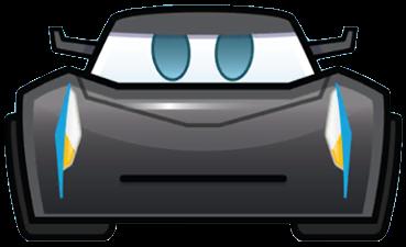 Jackson Storm As An Emoji Drawing By Disney Cars3 Disney Cars Pixar Cars Storm