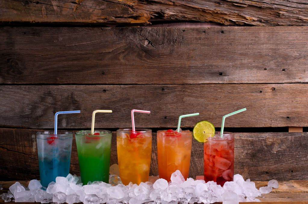 Kaelah's Cocktail Hour: Bartender Knows Best...might have to try each one of these colorful drinks...except maybe the cape cod