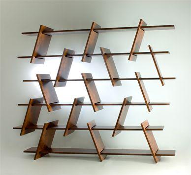 Shelf Design italic shelf from ronen-kadushin - design is open source under