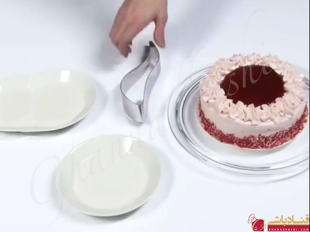 سفارش آنلاین برش زن کیک استیل (بازرگانی آرت) | لوازم قنادی