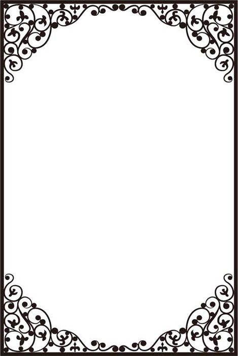 Crafts-Too Embossing Folder - DELICATE FRAME A4 | рамки | Pinterest ...