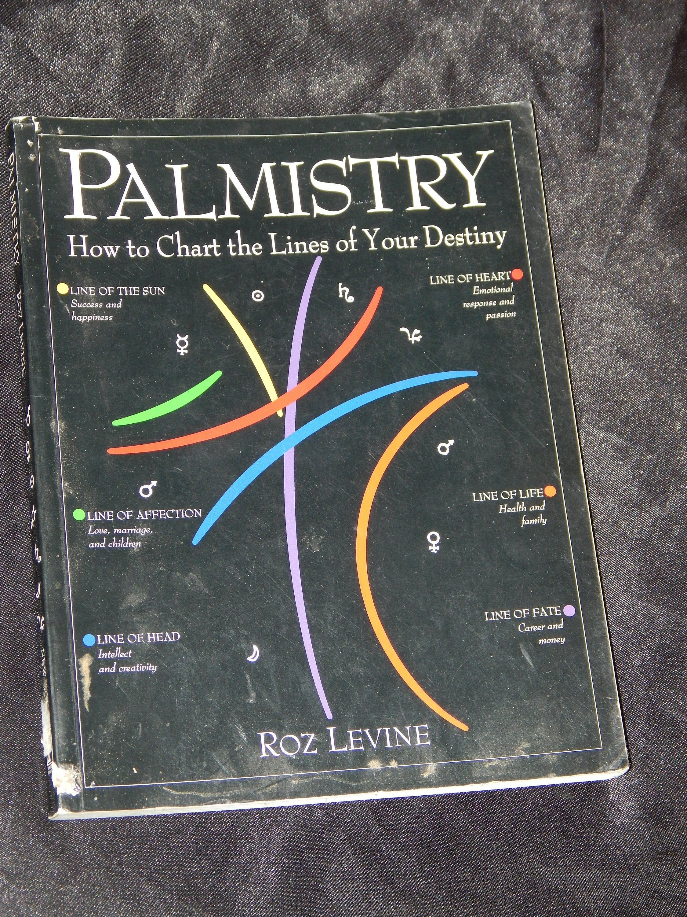 Palmistry How To Chart The Lines Of Your Destiny Used Books Etsy Occult Books Witchcraft Books Used Books