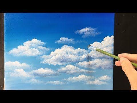Yağlı Boya Resimde Bulut Nasıl Yapılır Bulut Resmi çizimi