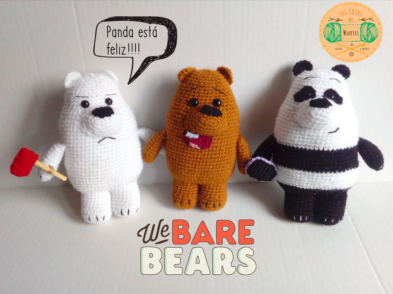 AMIGURUMI PANDA | WE BARE BEARS | FREE PATTERN CROCHET - YouTube | 2250x3000