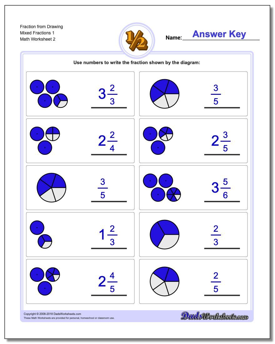 What Shaded Fraction Is Shown Great Collection Of Free Fraction Worksheets Wit Simple Fractions Worksheets Fractions Worksheets Free Printable Math Worksheets