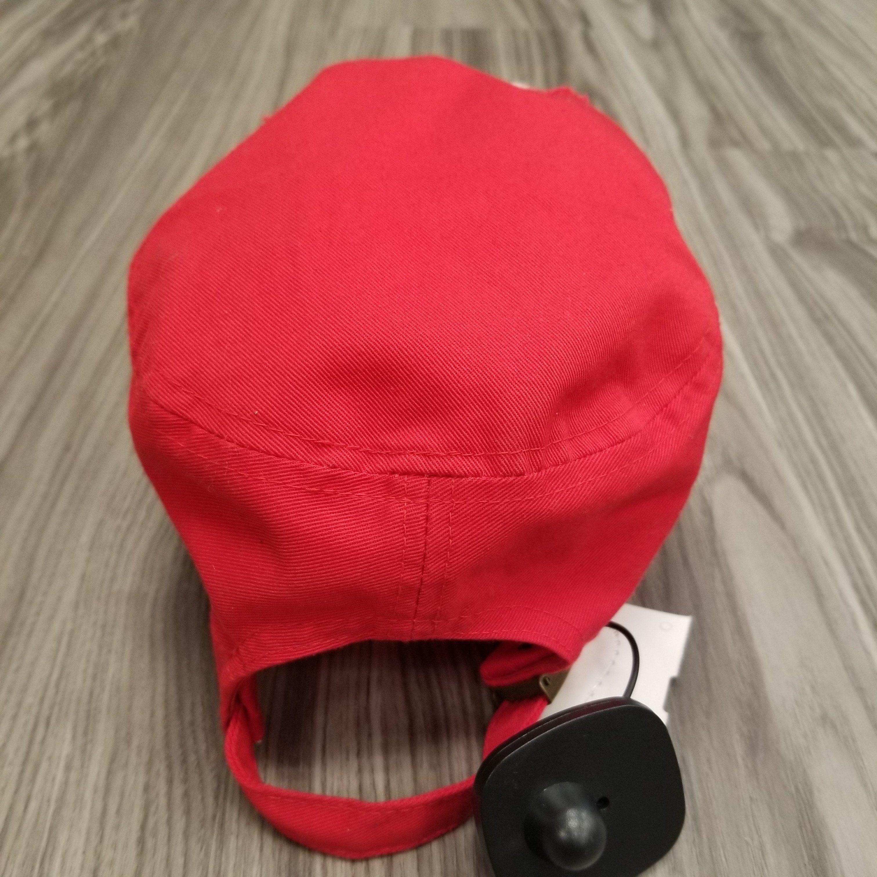 Hat red Soccer Mom